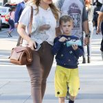 Hilary Duff Was Spotted Out in Beverly Hills with Her Son Luca Comrie 02/18/2018-4