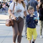Hilary Duff Was Spotted Out in Beverly Hills with Her Son Luca Comrie 02/18/2018-5