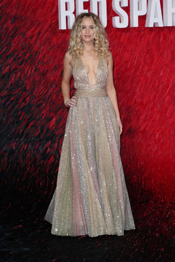 Jennifer Lawrence at the Red Sparrow Premiere in London 02/19/2018-1