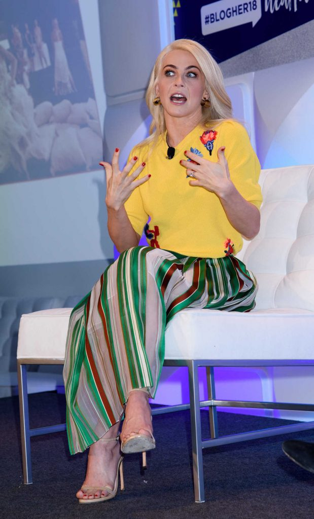 Julianne Hough at the BlogHer18 Health Conference at Tribeca Rooftop in NYC 01/31/2018-1