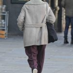 Keira Knightley Wears a Burberry Coat in North London 02/03/2018-5