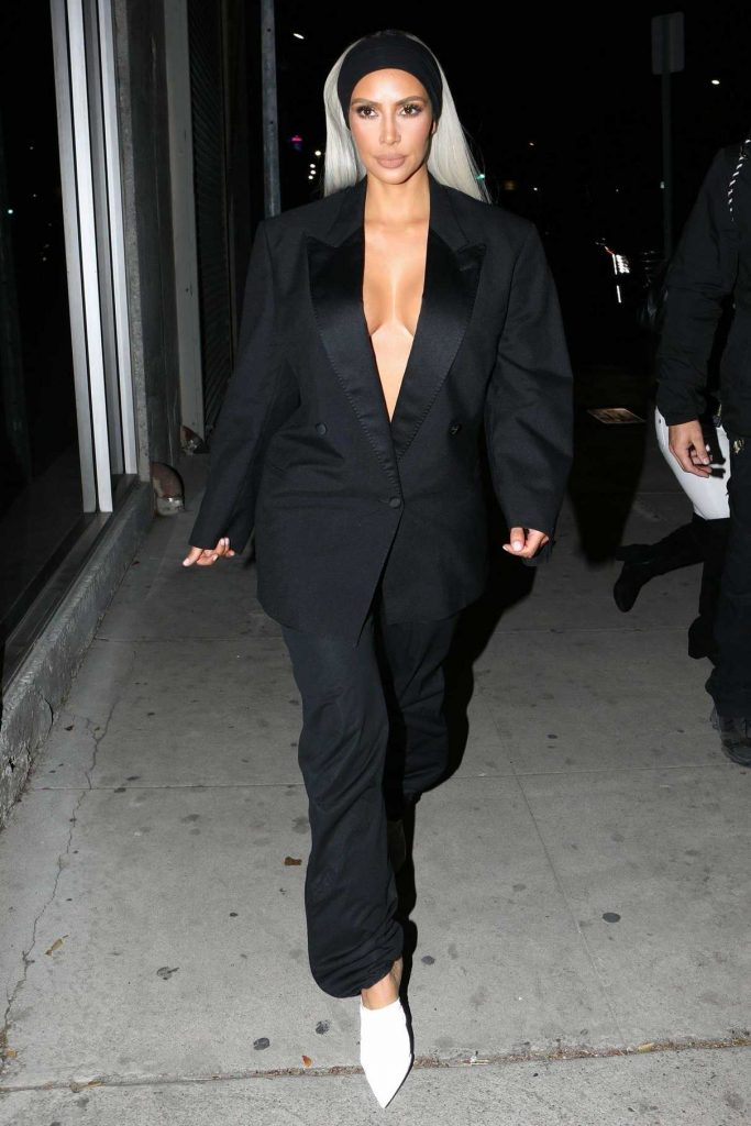 Kim Kardashian Was Seen Out in Downtown Los Angeles 02/24/2018-1