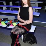 Larsen Thompson at the Jeremy Scott Fashion Show During New York Fashion Week in New York City 02/08/2018-2