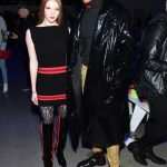 Larsen Thompson at the Jeremy Scott Fashion Show During New York Fashion Week in New York City 02/08/2018-3