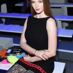 Larsen Thompson at the Jeremy Scott Fashion Show During New York Fashion Week in New York City 02/08/2018-5