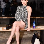 Lucy Hale at the Fiji Water at Self Portrait Show During New York Fashion Week in New York City 02/10/2018-2