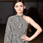 Lucy Hale at the Fiji Water at Self Portrait Show During New York Fashion Week in New York City 02/10/2018-3