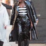 Lupita Nyong'o Arrives at Jimmy Kimmel Live Studios in Los Angeles 02/01/2018-2