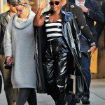 Lupita Nyong'o Arrives at Jimmy Kimmel Live Studios in Los Angeles 02/01/2018-5