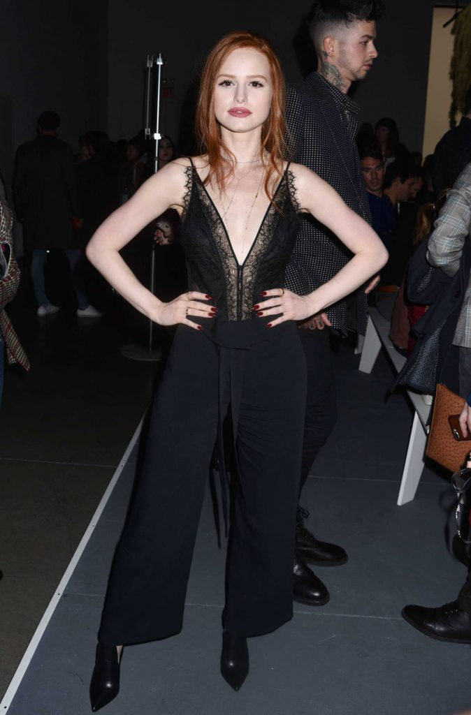 Madelaine Petsch at the Jonathan Simkhai Fashion Show During New York Fashion Week in New York City 02/10/2018-1