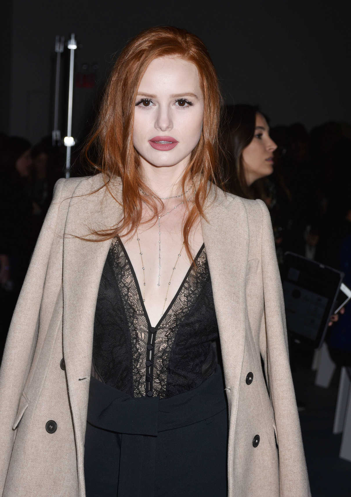 Madelaine Petsch at the Jonathan Simkhai Fashion Show During New York Fashion Week in New York City 02/10/2018-5