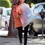 Madison Beer Gives a Big Bag of Clothes Away to Charity in LA 02/20/2018-2