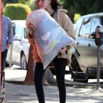 Madison Beer Gives a Big Bag of Clothes Away to Charity in LA 02/20/2018-5