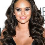 Madison Pettis at the Sherri Hill Fashion Show During New York Fashion Week in New York City 02/08/2018-5