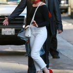 Maisie Williams Arrives on Jimmy Kimmel Live! in Hollywood 02/20/2018-4