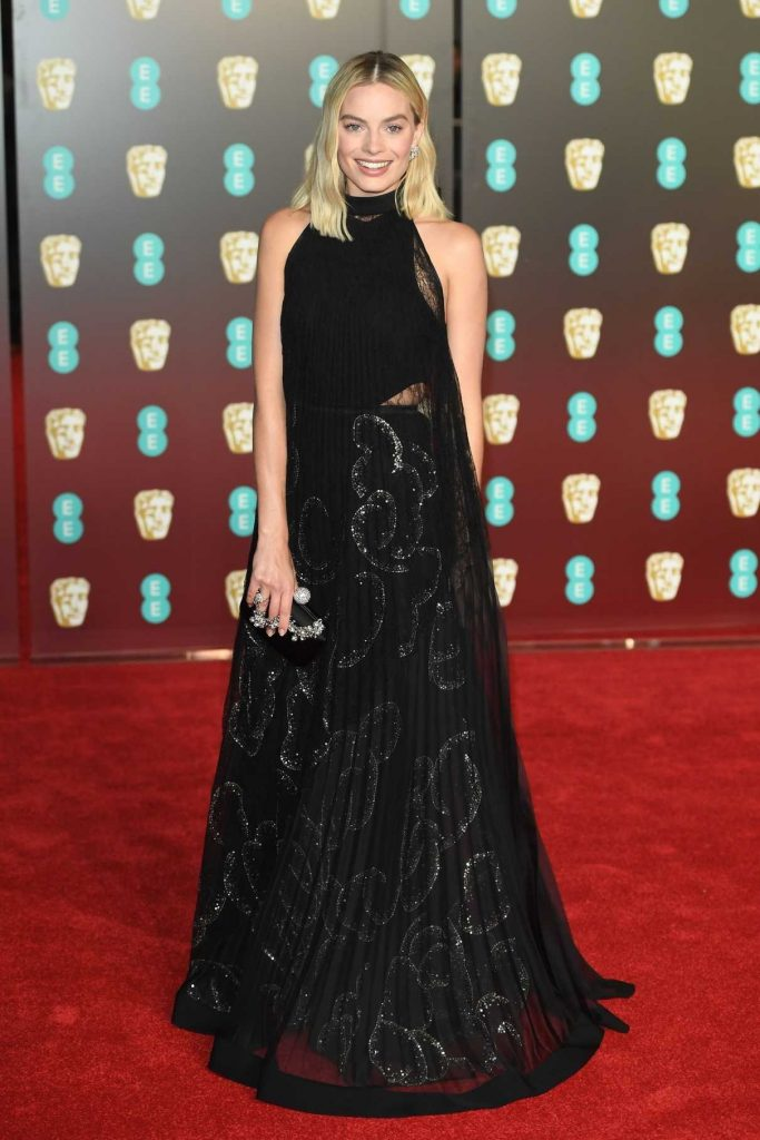 Margot Robbie at the 71st British Academy Film Awards at Royal Albert Hall in London 02/18/2018-1