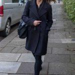 Melanie Chisholm Arrives at Geri Halliwell's home in London 02/02/2018