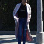 Mila Kunis Leaves a Hair Salon in Los Angeles 02/23/2018-2