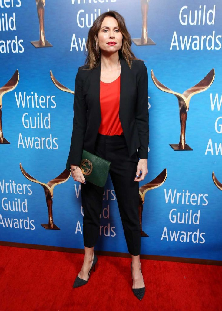 Minnie Driver at the 70th Annual Writers Guild Awards in Beverly Hills 02/11/2018-1