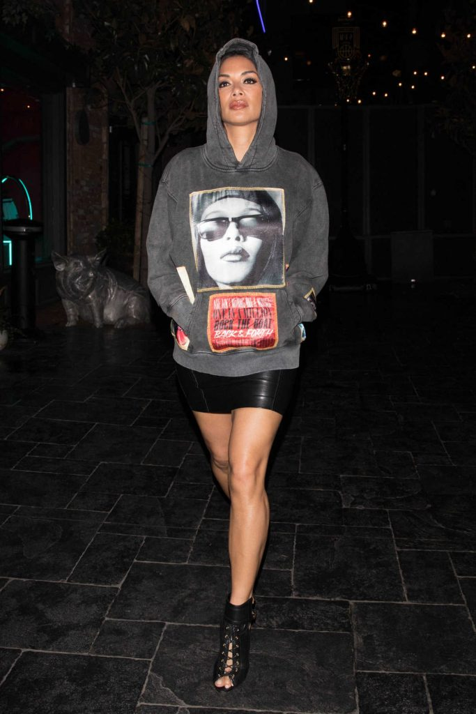 Nicole Scherzinger Night Out in Hollywood 02/18/2018-1