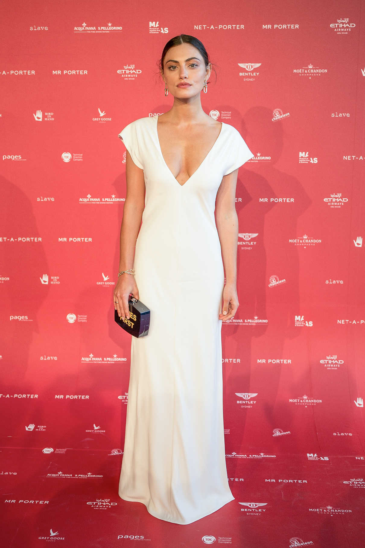 Phoebe Tonkin at Museum of Applied Arts and Sciences Centre for Fashion Ball at Powerhouse Museum in Sydney 02/01/2018-2
