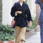 Rashida Jones Shops on Melrose Place in West Hollywood 02/10/2018-3