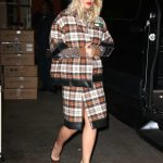 Rita Ora Arrives at Kelly and Ryan Show in New York City 02/01/2018-5