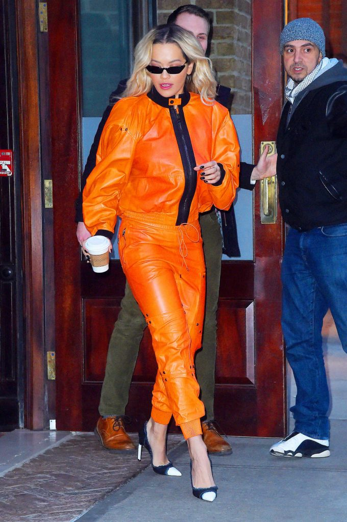 Rita Ora Heads to Late Night with Seth Meyers in NYC 02/01/2018-1