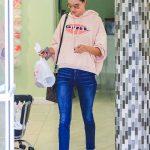 Alessandra Ambrosio Goes for a Mani-Pedi in LA 03/09/2018-2