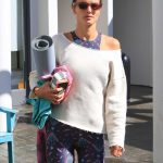 Alessandra Ambrosio Out for Yoga in Brentwood 03/17/2018-2