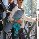 Alessandra Ambrosio Out for Yoga in Brentwood 03/17/2018-3