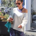 Alessandra Ambrosio Out for Yoga in Brentwood 03/17/2018-4
