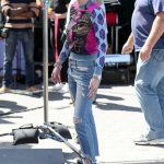 Bella Thorne Stops by Extra at Universal Studios Hollywood in Studio City 03/27/2018-2