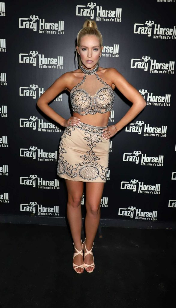 Chelsea Sophia Howell at the Hoops and Hottie Event at Crazy Horse III in Las Vegas 03/17/2018-1