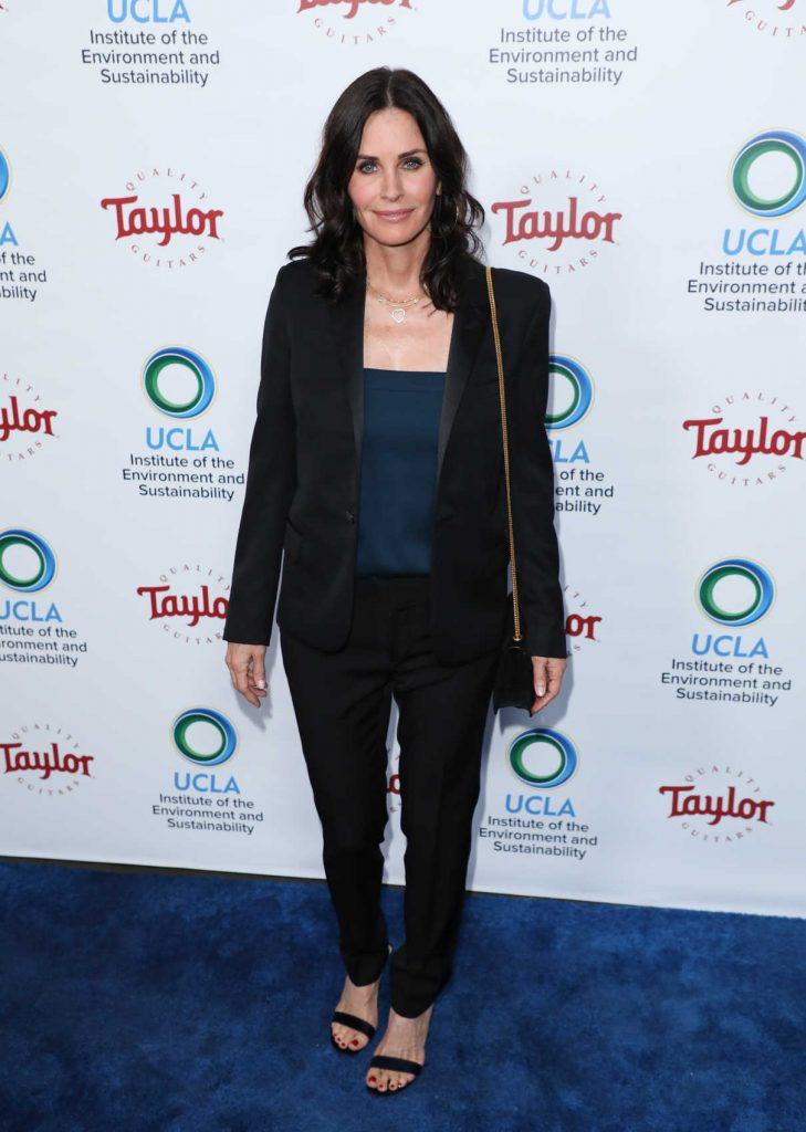 Courteney Cox at UCLA's Institute of the Environment and Sustainability Gala in Los Angeles 03/22/2018-1