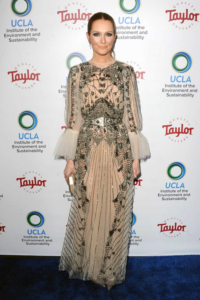 Darby Stanchfield at UCLA's Institute of the Environment and Sustainability Gala in Los Angeles 03/22/2018-1