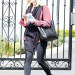 Elle Fanning Arrives at LA Fitness in Studio City 03/01/2018-4