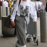Gigi Hadid Arrives at JFK Airport in NYC 03/29/2018-3