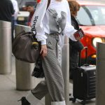 Gigi Hadid Arrives at JFK Airport in NYC 03/29/2018-4