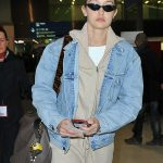 Gigi Hadid Arrives at the Charles de Gaulle Airport in Paris 03/27/2018-5