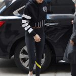 Gigi Hadid Was Spotted with a Versace Bag Out in NYC 03/09/2018-2