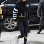 Gigi Hadid Was Spotted with a Versace Bag Out in NYC 03/09/2018-3