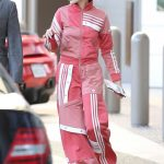 Hailey Baldwin Wears Adidas Track Suit as She Goes Shopping at Barneys NY in Beverly Hills 03/23/2018-5