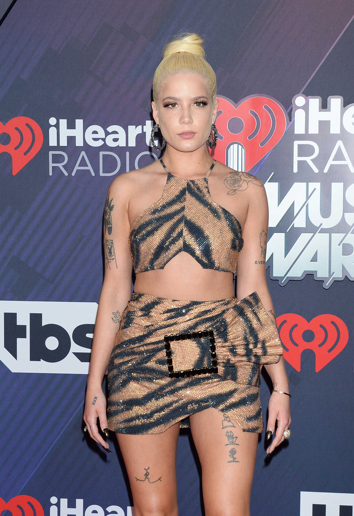 Halsey at 2018 iHeartRadio Music Awards in Inglewood 03/11/2018-3