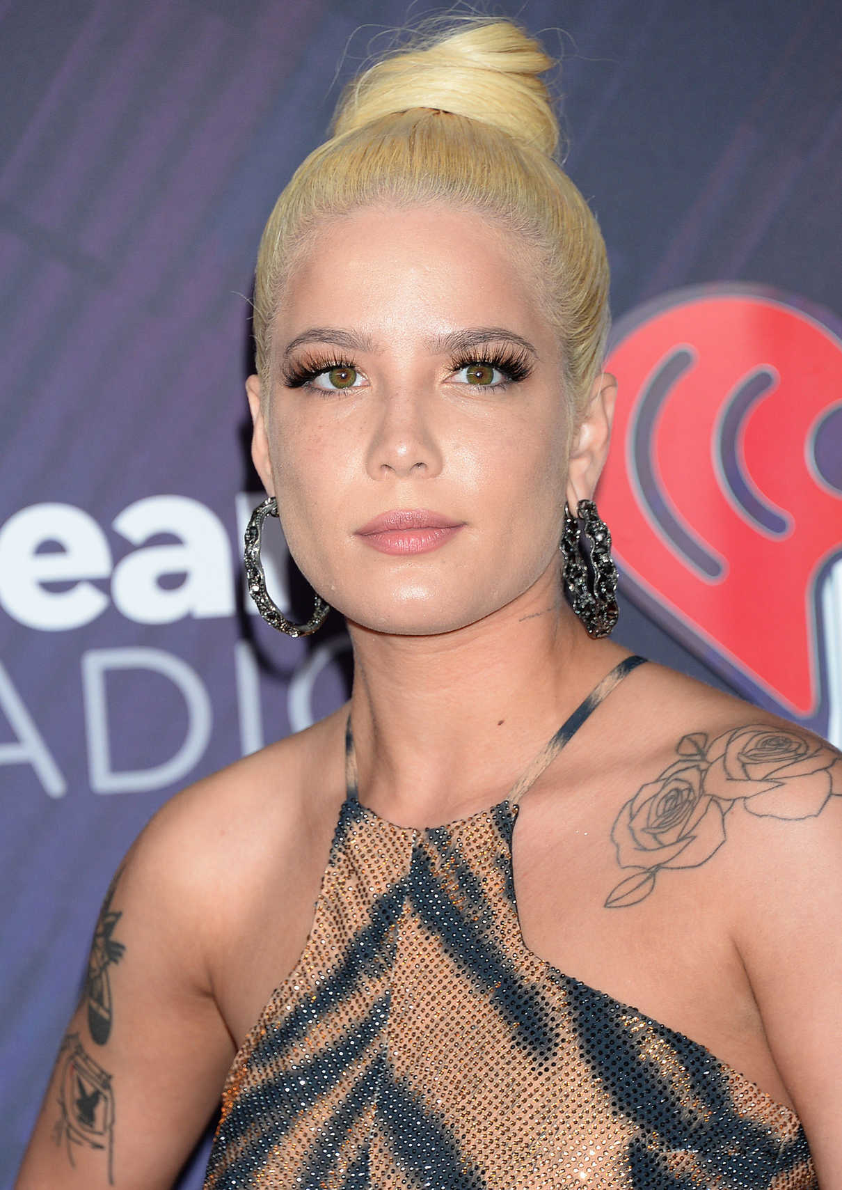 Halsey at 2018 iHeartRadio Music Awards in Inglewood 03/11/2018-5