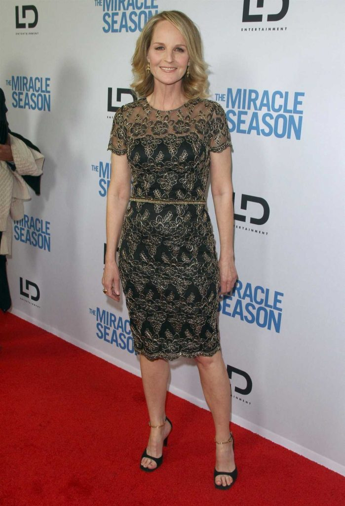 Helen Hunt at The Miracle Season Special Screening in West Hollywood 03/27/2018-1
