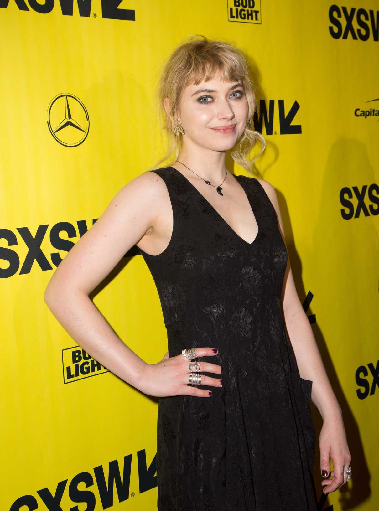 Imogen Poots at the Friday's Child Premiere During 2018 SXSW Festival in Austin 03/11/2018-3