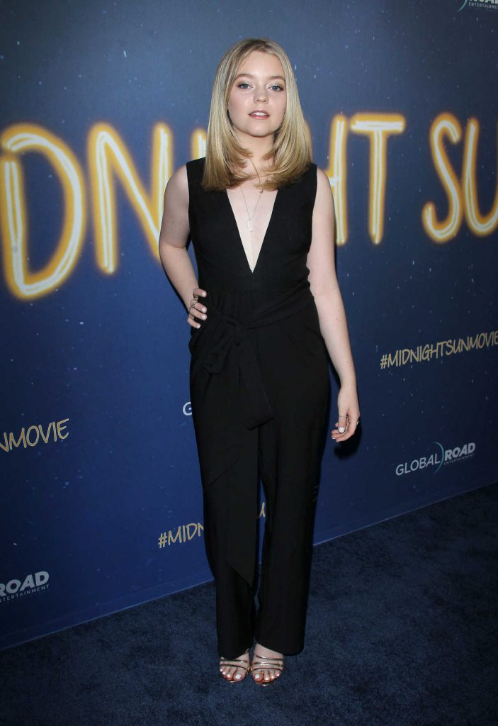 Jade Pettyjohn at the Midnight Sun Premiere in Los Angeles 03/15/2018-1