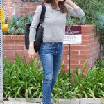 Jennifer Garner Wears a Blue Jeans Out in Brentwood 03/16/2018-2