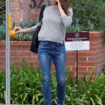 Jennifer Garner Wears a Blue Jeans Out in Brentwood 03/16/2018-5
